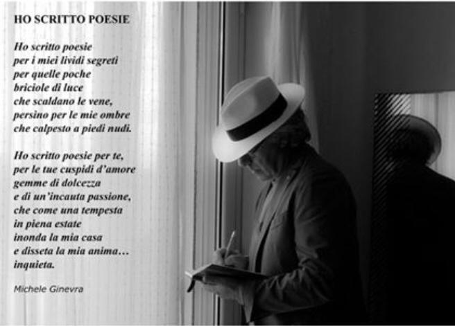 """Michele Ginevra: il Poeta in """"chiaroscuro"""" che rende orgogliosa Caltanissetta"""