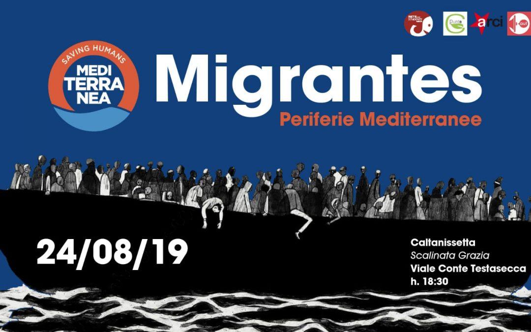 """""""Ricomincio da…"""" Periferie Mediterranee: il dibattito sui due volti di Caltanissetta"""