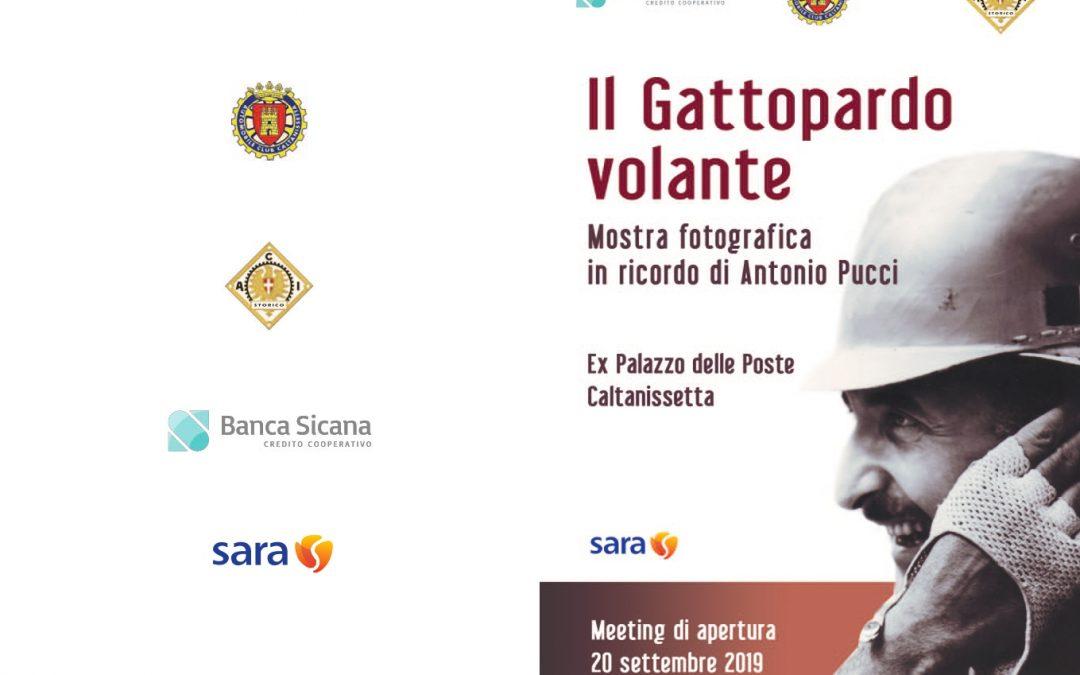 """""""Il Gattopardo volante"""": si inaugura oggi la mostra fotografica dedicata allo storico cam-pione automobilista siciliano A. Pucci"""