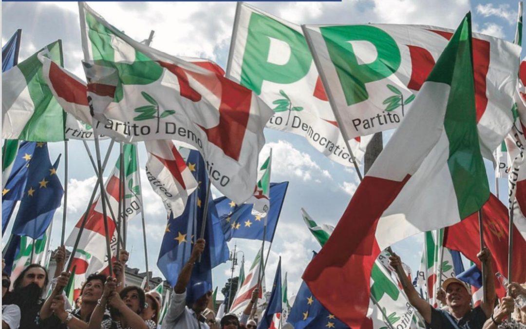 Il PD riparte dalla strada e dalle persone: gazebo in città