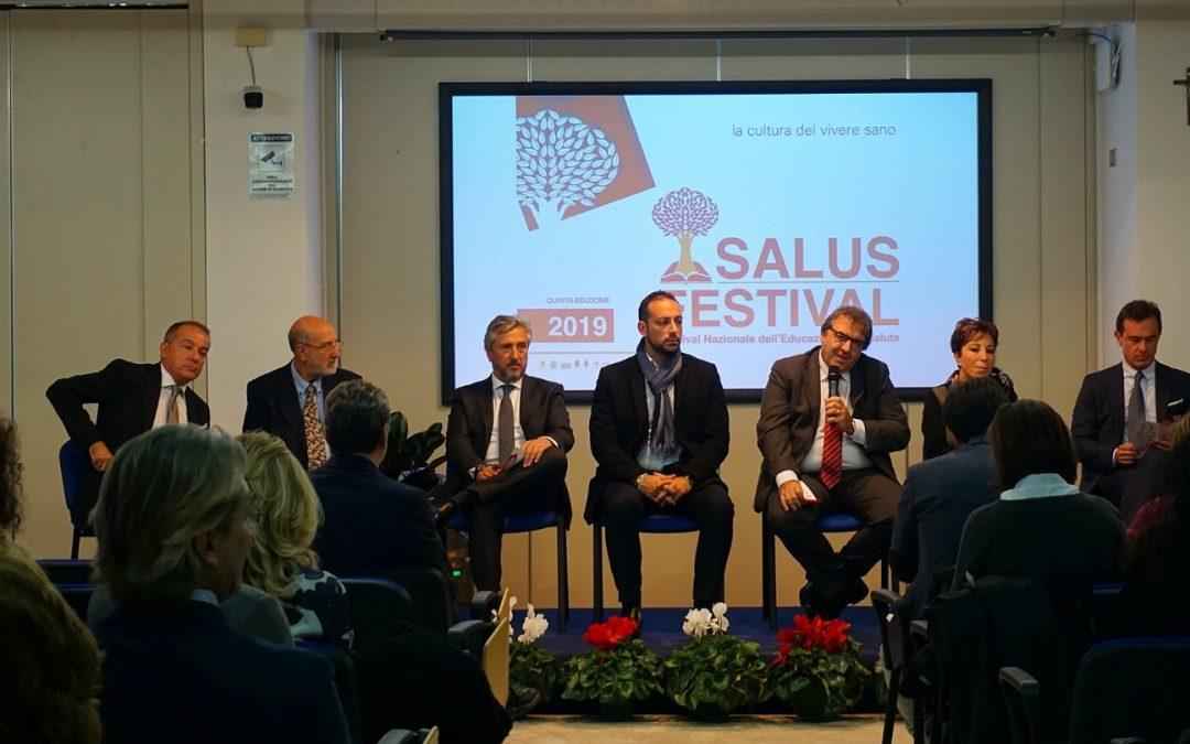 Inaugurato il Salus Festival, l'evento dedicato alla prevenzione ed alla promozione dei corretti stili di vita