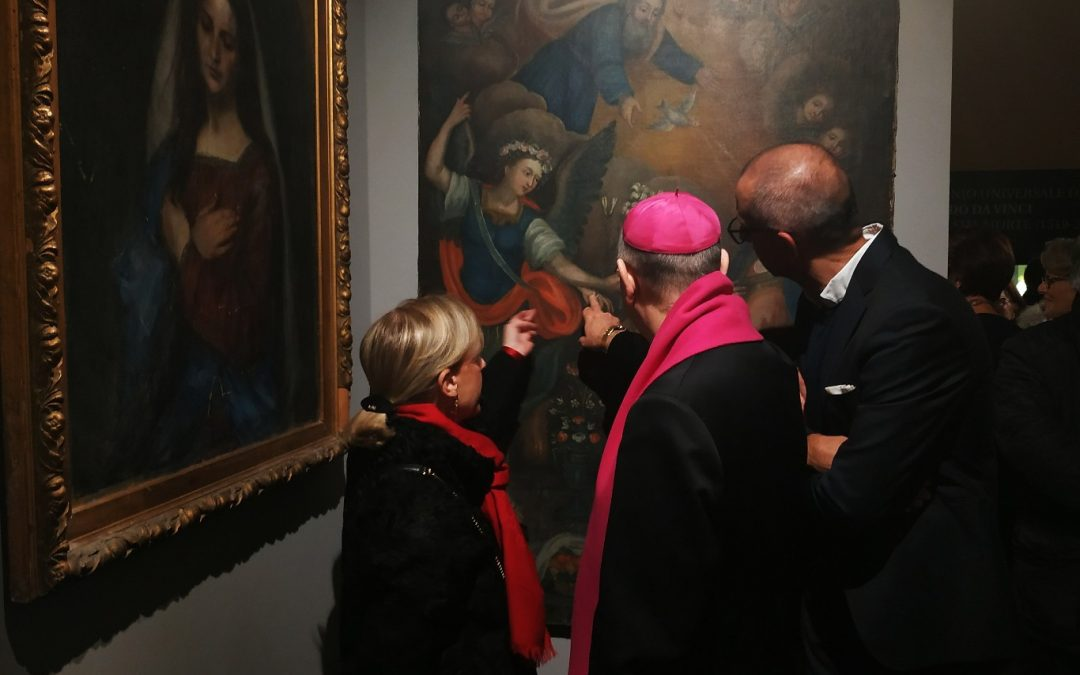 """""""La Vergine in ascolto"""" al MUDIC: una mostra sulla straordinarietà di Maria"""
