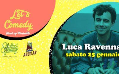 Let's Comedy arriva alla Street Factory Eclettica: la prima rassegna di Stand up comedy nel Sud Italia