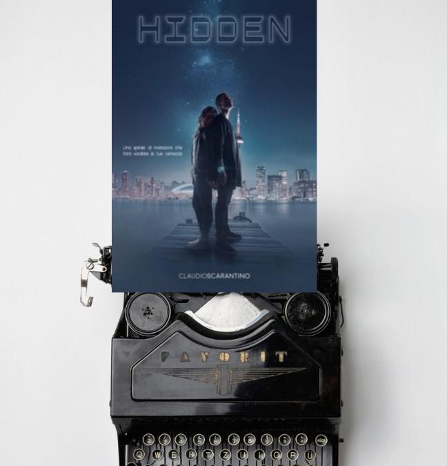 Amore, complotti e scoperte nel primo romanzo di Claudio Scarantino: Hidden