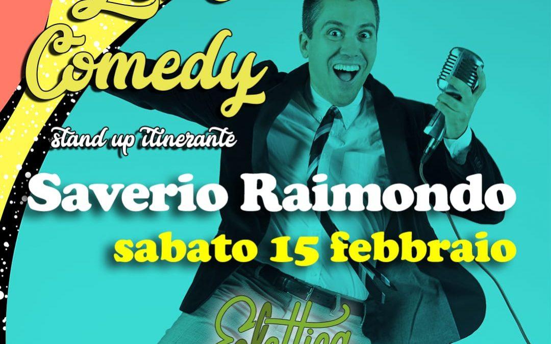 Let's Comedy all'Eclettica con l'umorismo senza freni di Saverio Raimondo