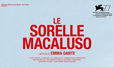 """Emma Dante torna al cinema con """"Le Sorelle Macaluso"""""""