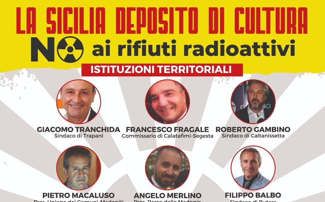 No al deposito nazionale di rifiuti radioattivi in Sicilia