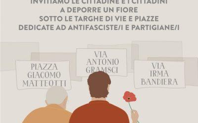 Festa della liberazione del 25 Aprile: A.N.P.I e Comune di Caltanissetta nella memoria dei Partigiani e della Resistenza