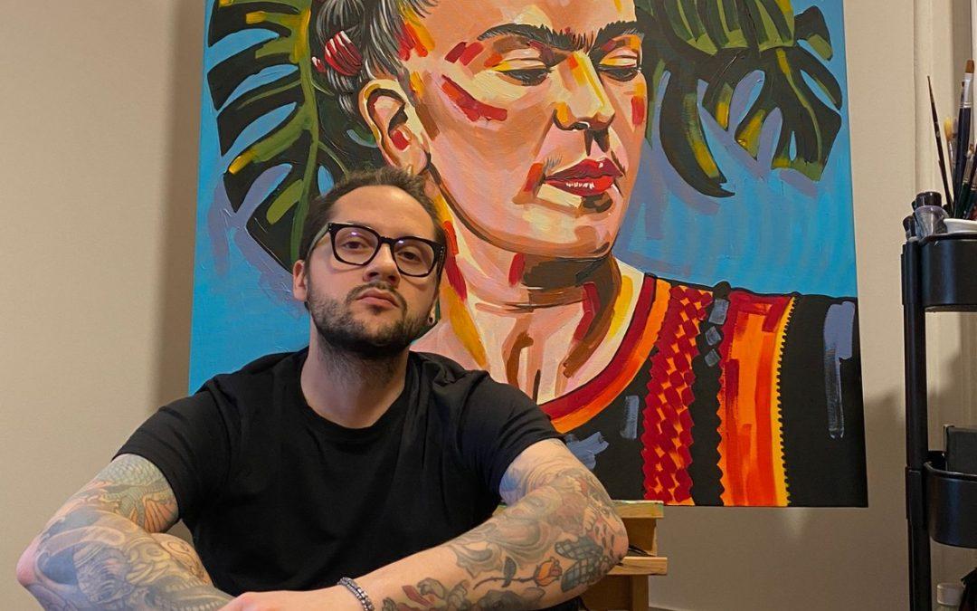 Tra disegni e tatuaggi, i colori di Valerio Pirrone