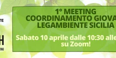 Primo Coordinamento Regionale Giovani di Legambiente Sicilia, partecipa anche tu