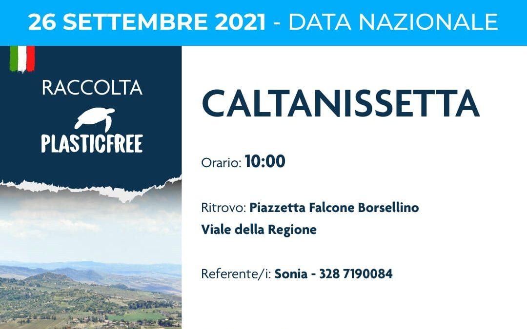A Caltanissetta l'evento nazionale di Plastic Free