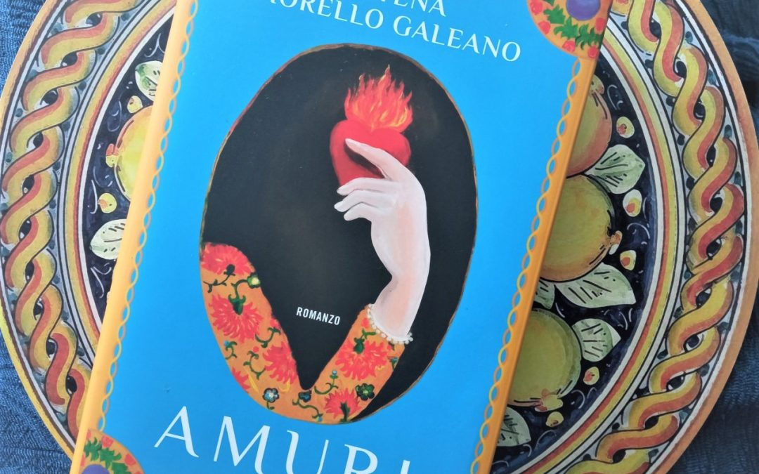 """""""Amuri"""" di Catena Fiorello Galeano, un viaggio che inizia dalla copertina"""